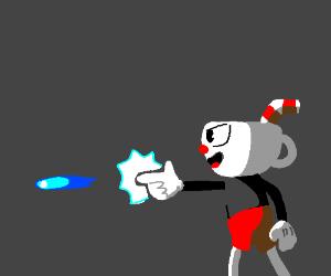 "Cuphead using ""finger gun"""