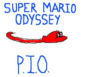 Super Mario Odyssey P.I.O