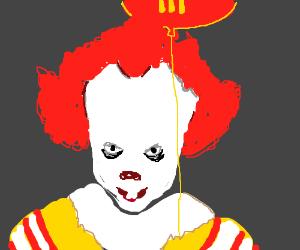Ronald McDonald & Pennywise fusion