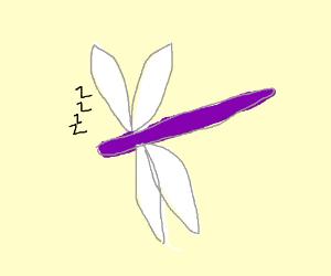 Sleeping Dragonfly