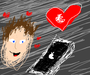 Relationship with a phone, you f-cking donkey
