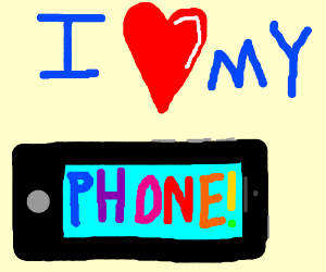 In love with your phone