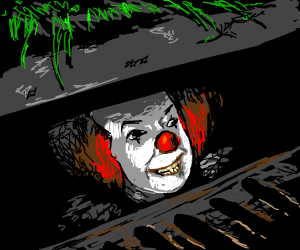 pennywise in the sewers