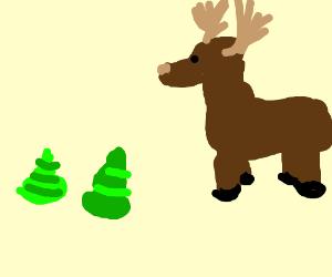 Moose shat green shet