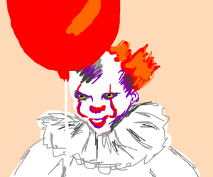 Pennywise and the Red Balloon