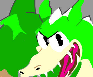 The Dragon From Cuphead