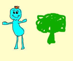 meeseeks and brocoli
