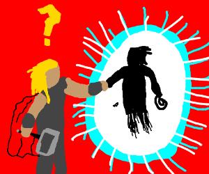 Thor and Wonder whoman brofist
