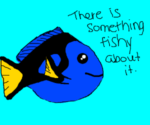 There is something fishy about fish puns