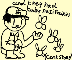 The Nazi fell in love with a fairy(cont story