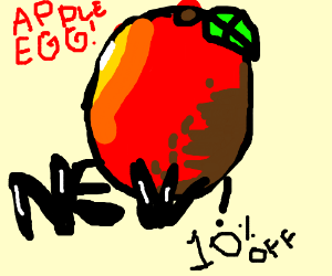 THE NEW APPLE EGG, NOW!