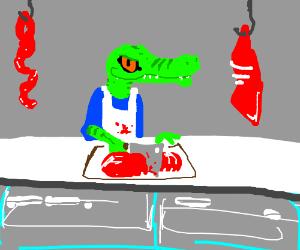 Crocodile Butcher
