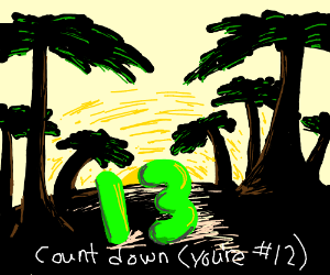 countdown Pio (draw 13)