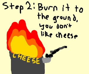 Step 1: Earn a cheese factory