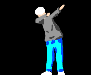 Step 5: dab on the haters