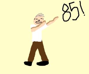 85 yo dab