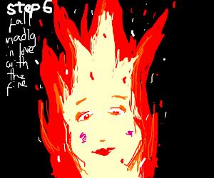 Step 5: AttemptToExtinguishTheFireOnYourHead