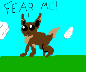 Eevee the horror game is too cute to be spooky