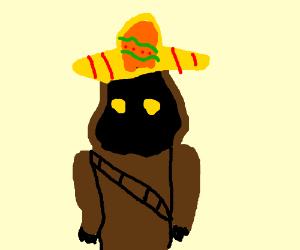 Jawa in a sombrero