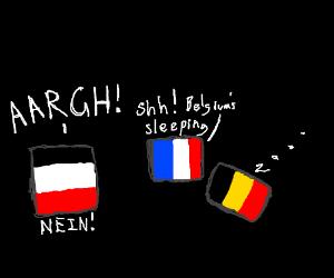 Sleeping Belgium