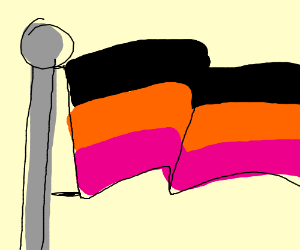 Germany But Brown orange and Pink