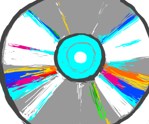 Shiny Side of a CD-ROM