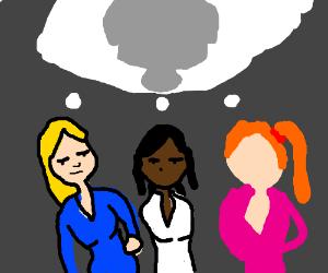 3 weird girls think about an elpehant (racist)