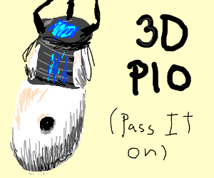 3D Pass It On (PIO)