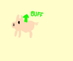 buff pig drawing by 7grand dad drawception