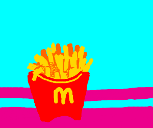Maccas fries