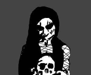 satanist girl