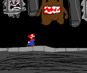 Domu-kun vs Mario