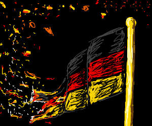 Sort of the German flag...