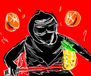 Kylo Ren, fruit ninja