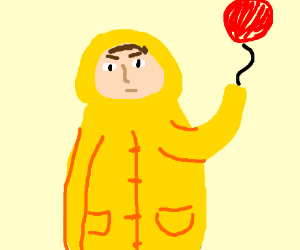 georgie from it with the balloon drawing by emilija love drawception