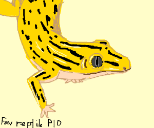 Fav Reptile PIO (mine: crocodile)