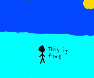 Is water wet? - Drawception