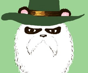Realistic pandalf (Monster legends)