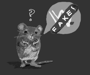Mouse complains about how fake WWE fights are