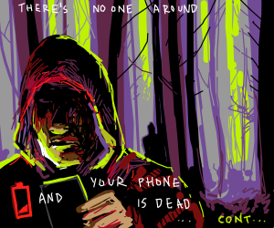 You're walking in the woods (cont song)