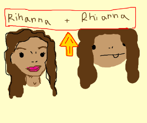 Rhianna and Rihanna