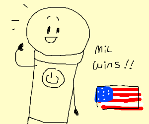 Microphone Presidential Election