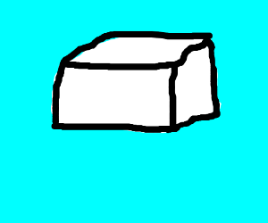 #1: white box with black lines