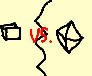 Cube vs. Octahedron