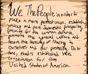 US Constitution Preable
