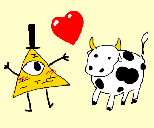 bill cypher loves a cow