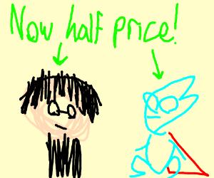 discount harry potter x pajama sam drawing by jesussmokesweed