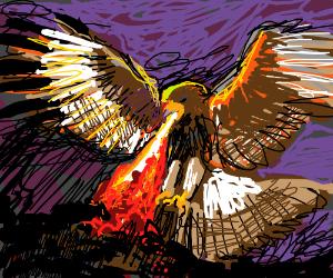 Fire-breathing Falcon