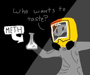 someone wanna taste meth in bottle?