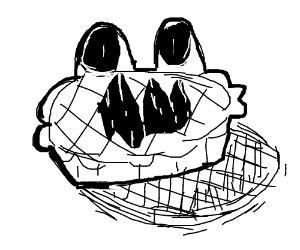 Nightmarish pie